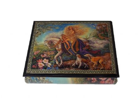 Lady Godiva Fantasie Impromptu Musical Jewellery Box 21201